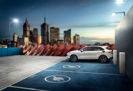 The new Cayenne E-Hybrid.